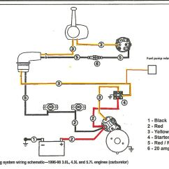Mercruiser 4 3 Alternator Wiring Diagram For Ignition Switch On Lawn Mower Volvo Penta Fuel Pump Yate Pinterest