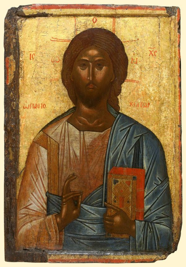 Detailed View Kk008. Christ Pantocrator- Exhibited Temple Specialists In