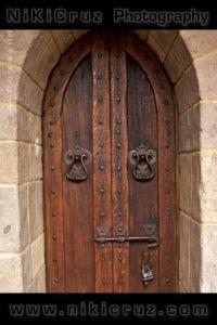 Medieval Wooden Doors | Medieval Wooden Door and Stone ...