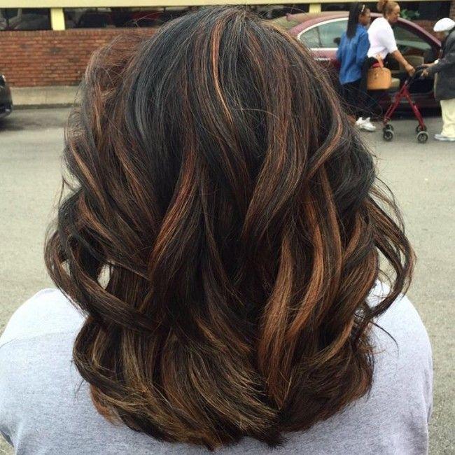 Hair Highlights for Black Hair for 2017