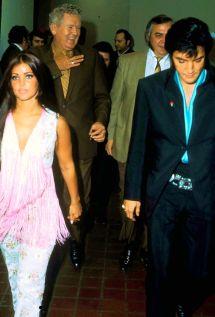 Elvis And Priscilla Presley In Las Vegas International