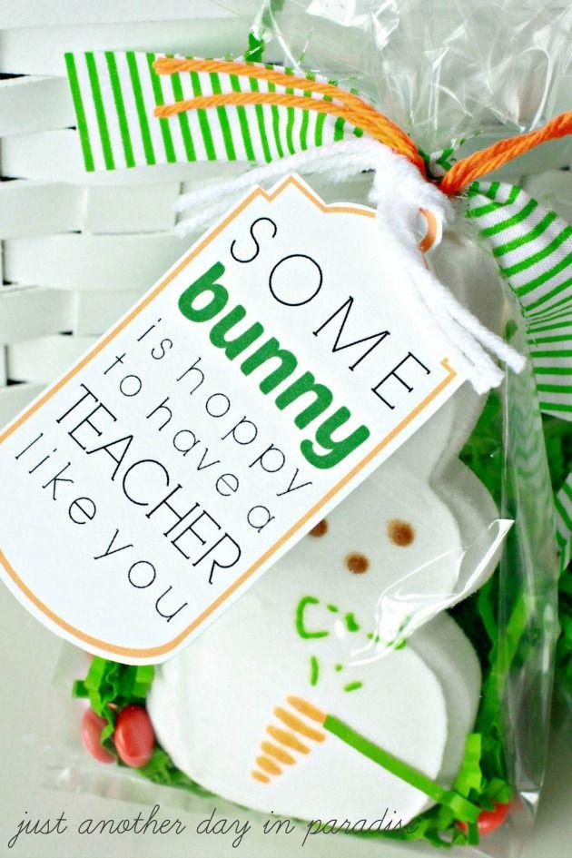 Easter Teacher Appreciation Tags Appreciation Easter