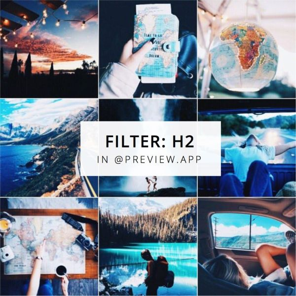 Blue Instagram Feed Ideas - Year of Clean Water