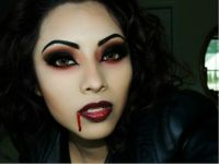Sexy Vampire Halloween Tutorial - YouTube | costume ideas ...