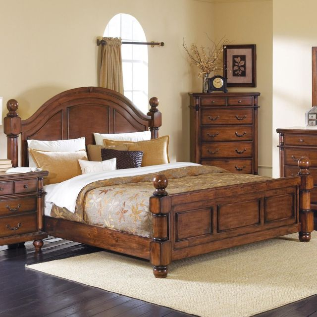 Augusta Cal King Bed by Crown Mark Bedroom furniture