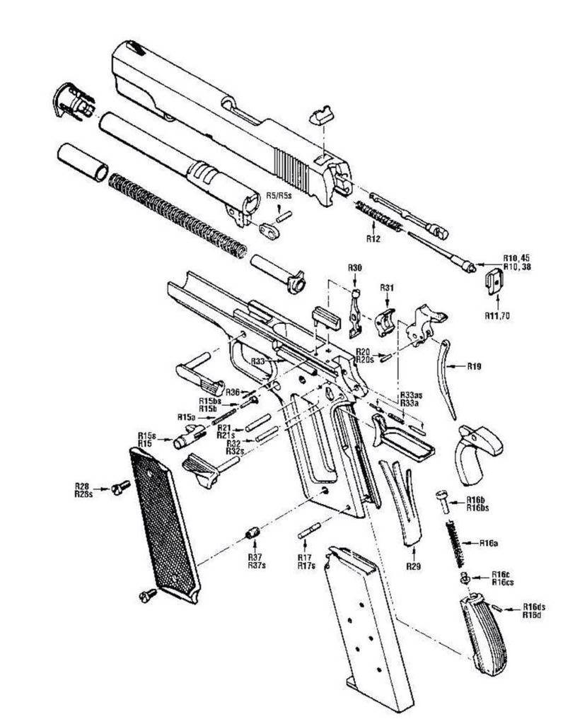 Colt 1911 Parts Schematic Quotes
