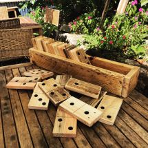 Large Pallet Dominoes In Sack Pallets And
