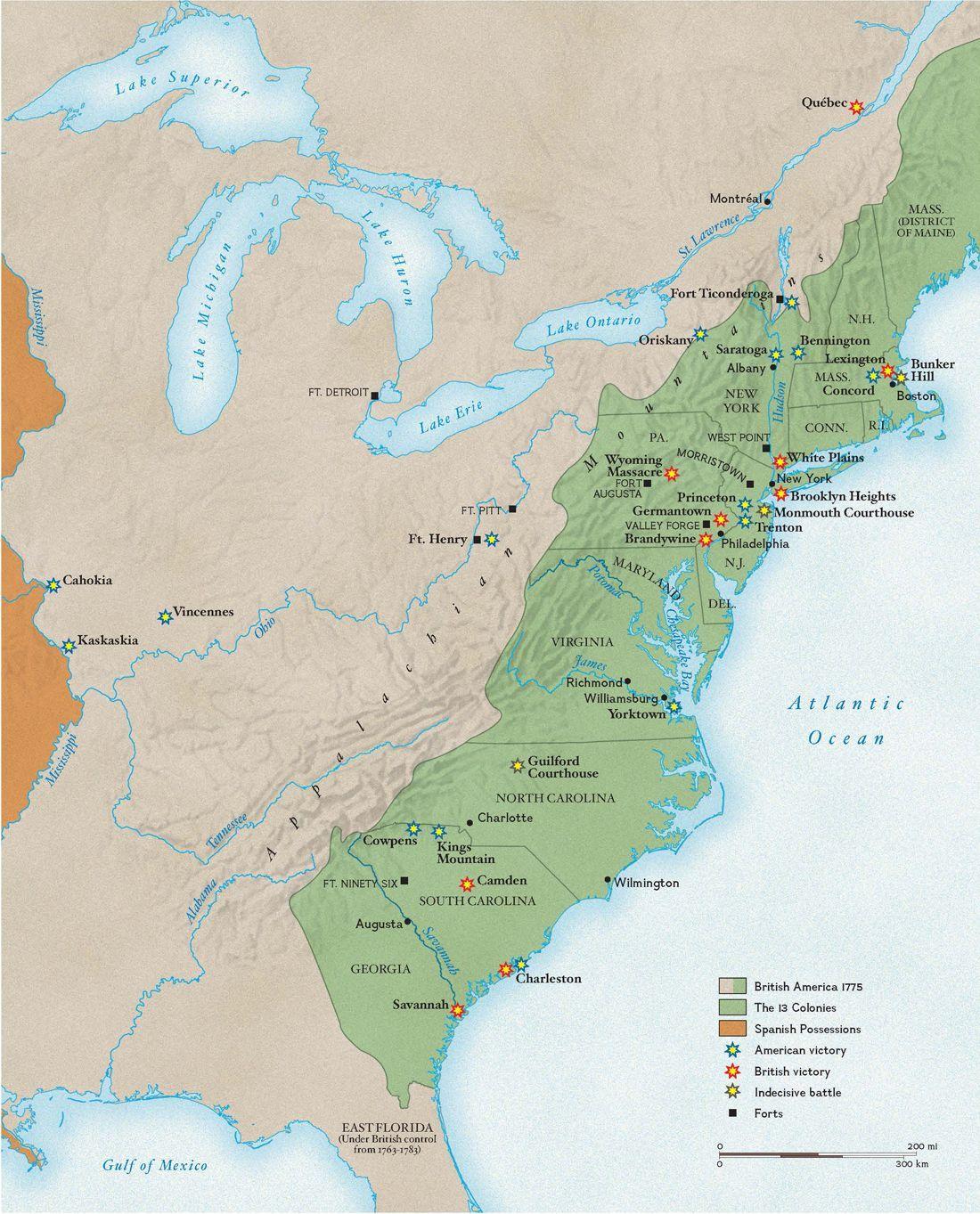 America S War For Independence Began On April 19