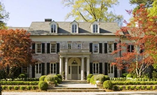Georgian Architecture Spitzmiller And Norris Architect Atlanta