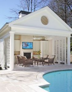 Pool houses design ideas pictures remodel and decor page also rh pinterest