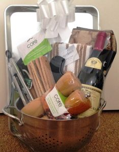 House warming present also homemade hamper for the folks wine and  rh pinterest