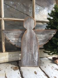 Angels {reclaimed wood} | Angel, Third and Woods