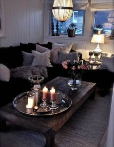 How to make  living room look larger also rooms cozy and rh pinterest