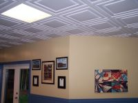 Ceilume's Stratford ceiling tiles in white   Remodel Ideas ...