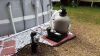 Intex Pool Upgraded Hard Plumb, Pool pump, Sand Filter ...