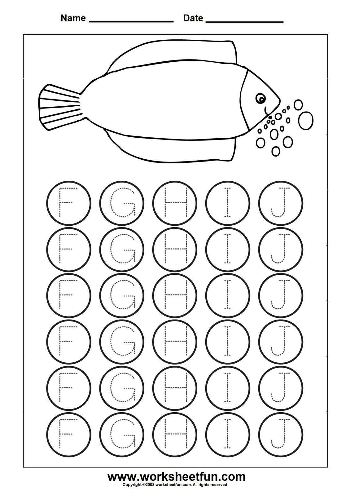 Image Detail For Letter Tracing Worksheets For Kindergarten