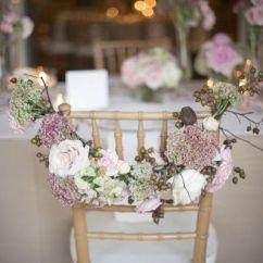 Chair Sash Alternatives Plastic Folding Lounge Outdoor Alternative Floral Garland Wedding Pinterest