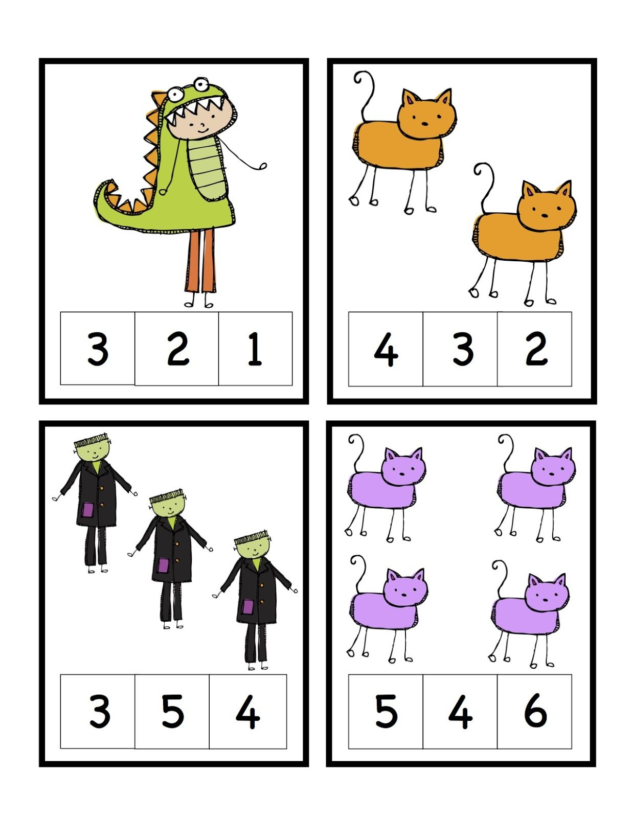 Preschool Printables Free Halloween Printable Teaching