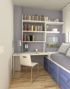 Ideas  tips for decorating your small home decorate bedrooms bathrooms and living areas using these space saving design solutions also narrow room modern interior pinterest rooms rh