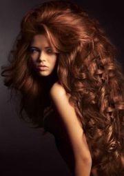 redhead. big hair. beautiful long