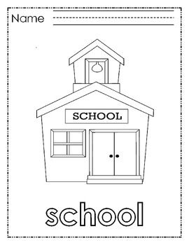 This set of nine coloring pages is perfect for students