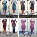 Amelia Lularoe Dress Styles