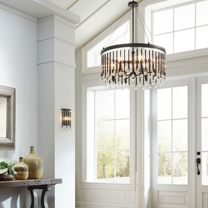 Foyer Lighting Hallway Lights Including Pendant And Sconces