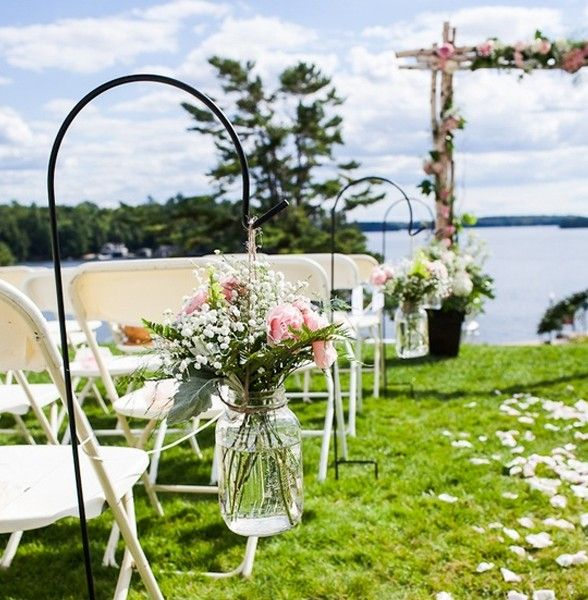 Outside Wedding Decorations Outdoor Wedding Ideas With Flower