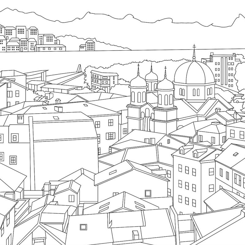 Travel-Themed Coloring Books…Created from Real Life