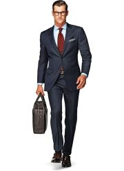 suitsupply navy pinstripe suit
