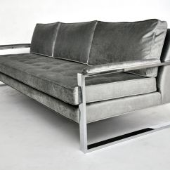 Steel Frame Sofa Recling Frames Stainless Leather Metal