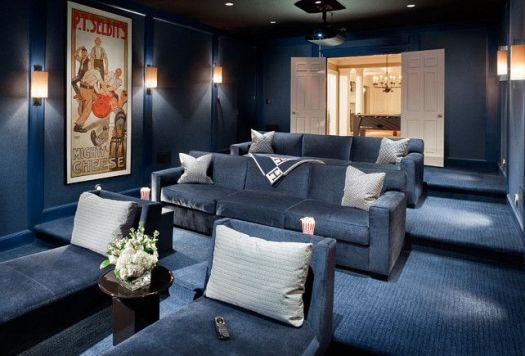 Home theater paint color schemes home painting Home theater colors