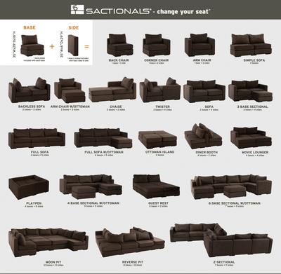 dune sofa arhaus cotton velvet lovesac modular furniture configuration options - google ...