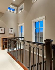 Wall color   sherwin williams outer banks for our living room with chair rail also rh nz pinterest