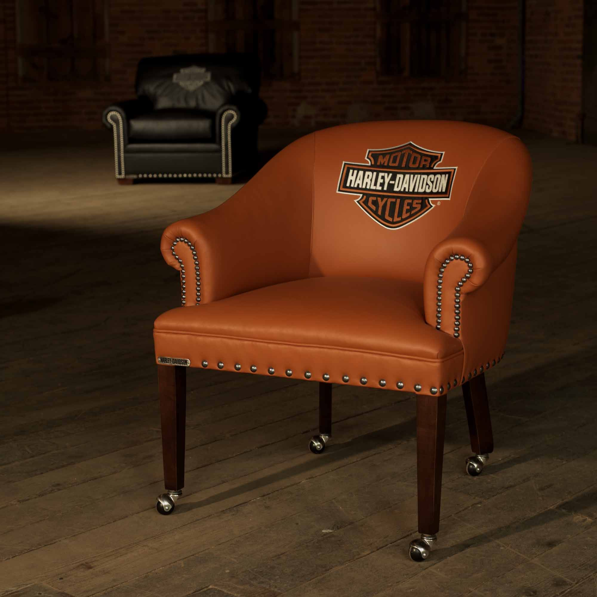 Harley Davidson Chairs Pin By Classic Leather Inc On Harley Davidson Furniture