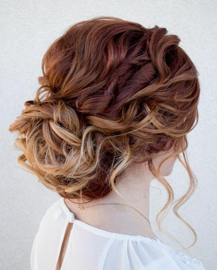 Festliche Silvester Frisuren Zum Selbermachen Haare Pinterest