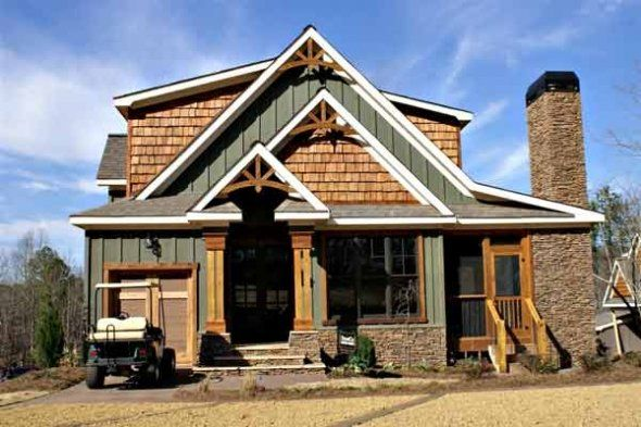 Exterior Pictures Of Rustic Craftman Style Homes Rustic House