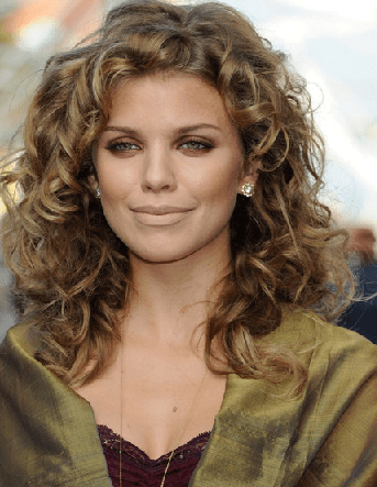 Wavy Curly Haircuts For Oval Faces Celebrity HairstylesEdgy