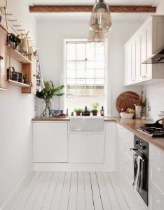 Galley kitchen design ideas to steal for your remodel apartment therapy also make it work smart solutions narrow kitchens rh pinterest