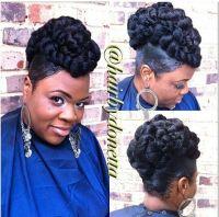 quick kanekalon hairstyles kanekalon updo adorning hair ...