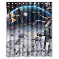 Amazon.com - Generic Star Wars Shower Curtain 60-Inch By ...