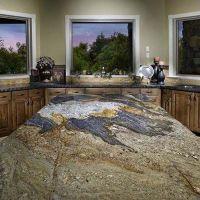 Lava Granite Countertop | Kitchen Remodeling Ideas ...