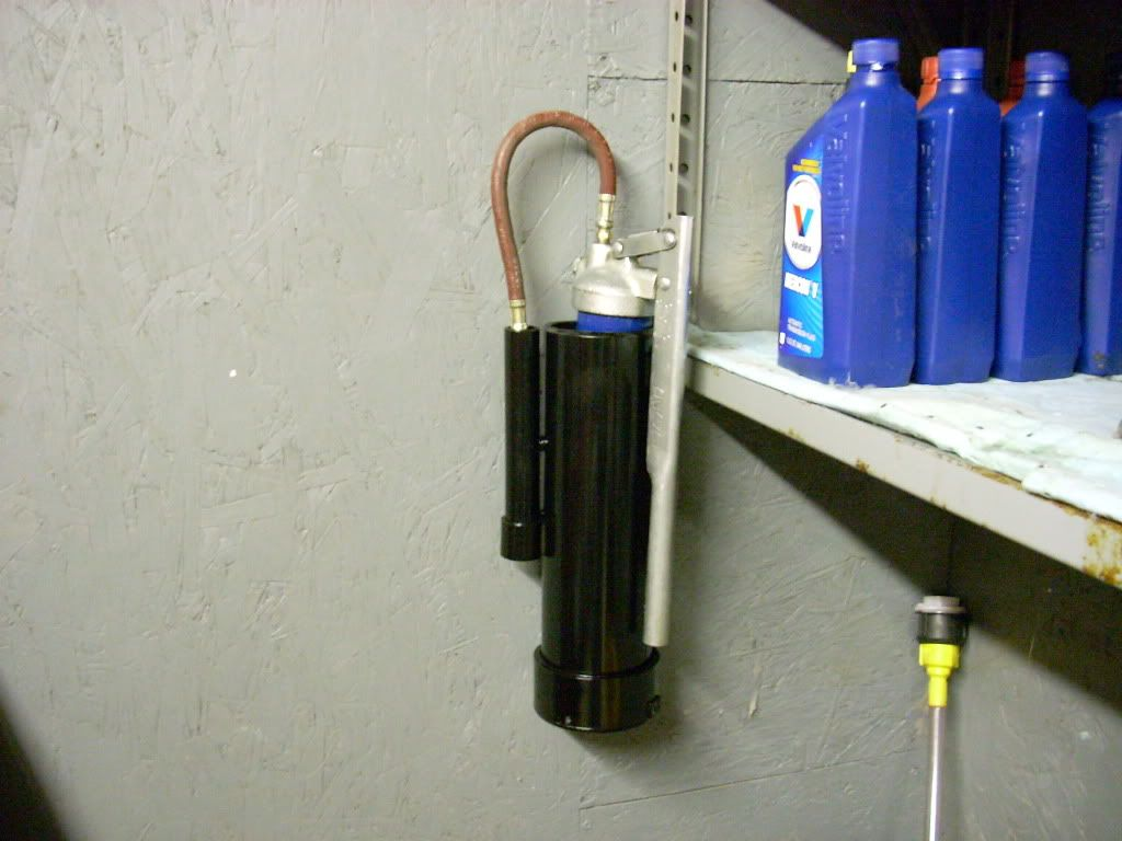 PVC Grease gun holder