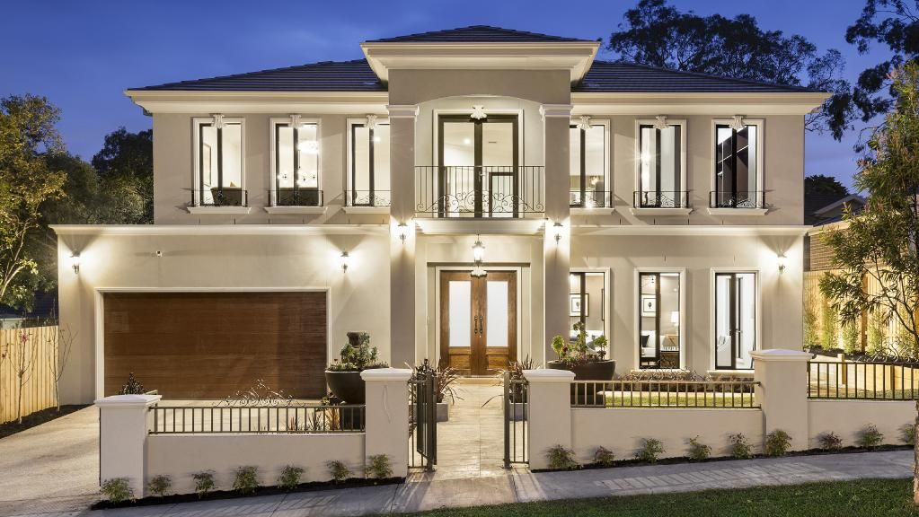 The French Provincial Home At 20 Landridge St Glen Waverley Has