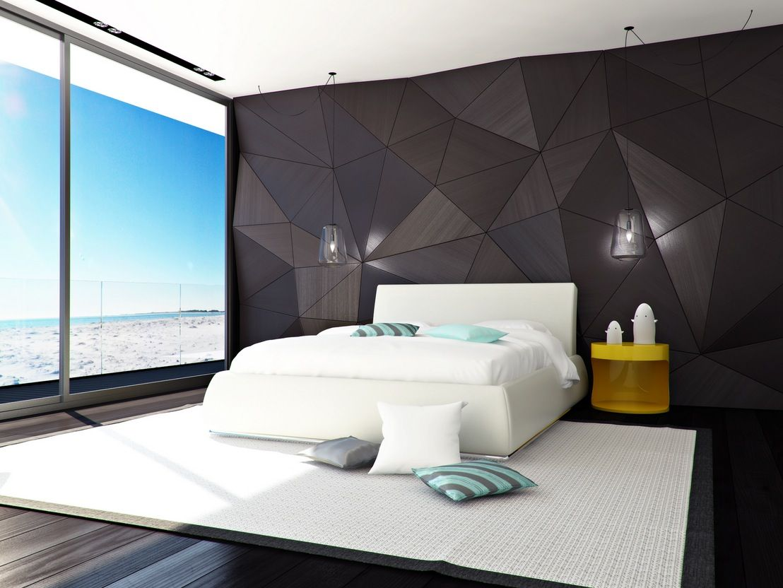 Modern hotel room interior stock photo image 18197840 - Best Modern Bedroom Designs