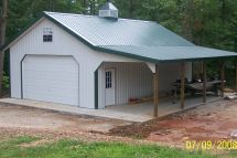 Metal Pole Barn Building Plans