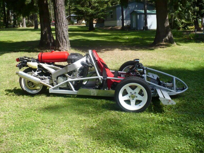 Reverse Trike Kits And Plans