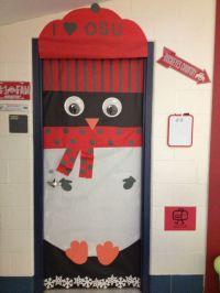 My rocking OSU penguin door decor. Go Bucks!!! | Classroom ...