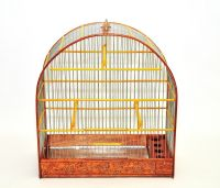 WOODEN HANDMADE BIRD CAGE Songbird,Canary,Finch | eBay ...