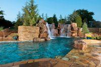 amazing pools and backyards  Roselawnlutheran
